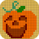 Halloween Sandbox Number Coloring Color By Number by michel DEV 2018