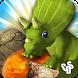 Jurassic Free Fall - Match 3 by Hunter CDS Games