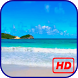 Sunny beach HD Live Wallpaper by Nordic Wallpapers