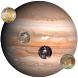 Jupiter's Moons by Sappalodapps Development
