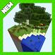 Sky forest islands Chunk map for Minecraft by krasnovkaom