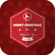 Merry Christmas Keyboard Theme by Love Free Themes