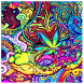Psychedelic Wallpaper by eMe