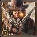 Western cowboy gun theme by cool theme designer