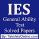 IES General Ability Previous Years Solved Papers by TakshilaOnline.com