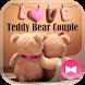 Cute Theme Teddy Bear Couple by +HOME by Ateam