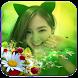 กรอบรูปดอกไม้ แต่งรูปดอกไม้ by srinoun app