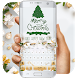 White Merry Christmas music keyboard by Bestheme Pink shining album collection