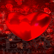 Dark Red Heart LWP by Daksh Apps
