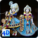 4D Radha Krishna Murti Darshan Live Wallpaper by Just Hari Naam