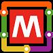 Milan Metro Map by Transopolis