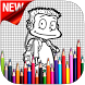 How To Draw All Grown Up Step by Step by AntMedia Studio
