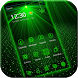 Laser light green tech Theme by DIY Themes 2017 New