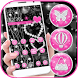 Love Black Diamond Heart Theme by ChickenAnt Themes