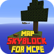 Map Skyblock for MCPE by Major Mods