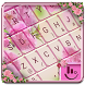 Pink Sakura Keyboard Theme by Love Free Themes