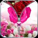 Rose zip Screen Lock by Kashiapps