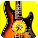 Bass Guitar Chords Compass by Max Schlee