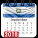 Calendario 2018 El Salvador festivos, semana santa by Appsamimanera