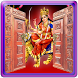 Maa Durga Door Lock Screen by Amazing Night Riders