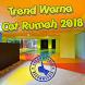 Trend Warna Cat Rumah 2018