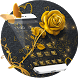 Golden Rose Theme Golden Wallpaper by Beauty theme