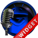 Poweramp Widget Blue Droid 5