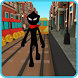 Stickman Subway Runner - City Surf by HyperSpell Inc