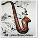 All Lyrics Bruno Mars by zyan_app