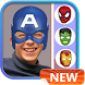 Superhero Mask Photo Stickers by Deeva Apps