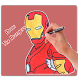 How To Draw Avengers Characters by EasyDrawing