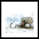 Winter Sheep Wallpaper by 권민규