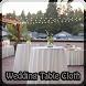 Wedding Table Cloth by carmen masci