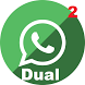 Dual Accounts for Whatsapp by SoftAngles Technologies Ltd