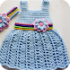 Crochet Baby Dress 2016 by vijash