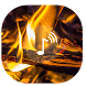 Fireplace ~ Fire Screen HD by [ ninja tech ]
