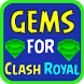 Gems for Clash Royal simulator by xoop ranye