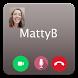 Call Video MattyB Prank by Mas Dev