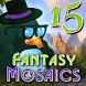 Fantasy Mosaics 15 by Andy Jurko
