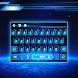 blue planet earth keyboard space future