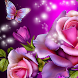 glitter rose wallpaper by amazing live wallpaper llc