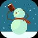 Snowy Christmas Wallpaper by Rewea.com