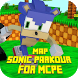 Map Sonic Parkour for MCPE by Major Mods