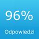 Odpowiedzi do 96% po polsku