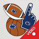 Penn State Nittany Lions Selfie Stickers Animated by 2Thumbz, Inc