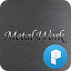 Silver Metal Launcher Theme by SK techx for themes