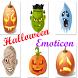 Halloween Pumpkin Emoticon by Smart App Dev