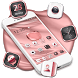Pink Apple Crystal Theme by Hot Launcher