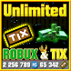 Unlimited Robux and Tix For Roblox Simulator by third life apps pro