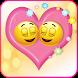 Love Emoji by Valentine Stickers Store